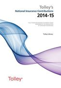 Cover of Tolley's National Insurance Contributions 2014-15 + Supplement Set