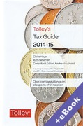 Cover of Tolley's Tax Guide 2014-15 (Book & eBook Pack)