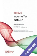 Cover of Tolley's Income Tax 2014-15 (Book & eBook Pack)