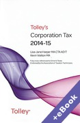 Cover of Tolley's Corporation Tax 2014-15 (Book & eBook Pack)