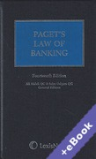 Cover of Paget's Law of Banking (Book & eBook Pack)