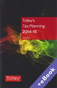 Cover of Tolley's Tax Planning 2014-15 (Book & eBook Pack)