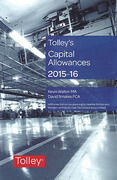 Cover of Tolley's Capital Allowances 2015-16