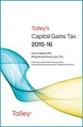 Cover of Tolley's Capital Gains Tax 2015-16