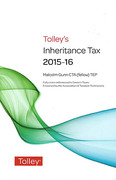 Cover of Tolley's Inheritance Tax 2015-16