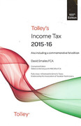 Cover of Tolley's Income Tax 2015-16