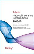 Cover of Tolley's National Insurance Contributions 2015-16