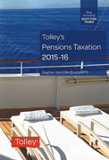 Cover of Tolley's Pensions Taxation 2015-16