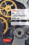 Cover of Tolley's Tax Computations 2015-16