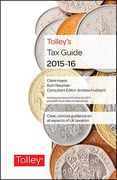 Cover of Tolley's Tax Guide 2015-16