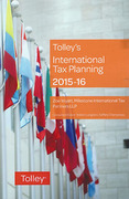 Cover of Tolley's International Tax Planning 2015-16