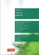 Cover of Tolley's Taxwise 2015-16: Part 1