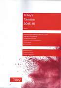 Cover of Tolley's Taxwise 2015-16: Part II