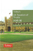 Cover of Tolley's UK Taxation of Trusts 2015-16