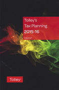 Cover of Tolley's Tax Planning 2015-16