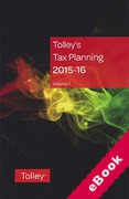 Cover of Tolley's Tax Planning 2015-16 (eBook)