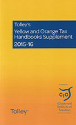 Cover of Tolley's Yellow and Orange Tax Handbooks Supplement 2015-16: The Finance (No 2) Act 2015