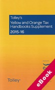 Cover of Tolley's Yellow and Orange Tax Handbooks Supplement 2015-16: The Finance (No 2) Act 2015 (eBook)