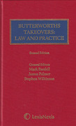 Cover of Butterworths Takeovers Law and Practice