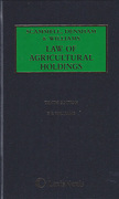 Cover of Scammell, Densham & Williams Law of Agricultural Holdings