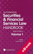 Cover of Butterworths Securities and Financial Services Law Handbook 2015 (eBook)