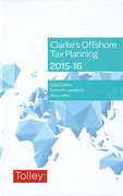 Cover of Clarke's Offshore Tax Planning 2015-16