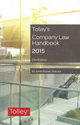 Cover of Tolley's Company Law Handbook 2015