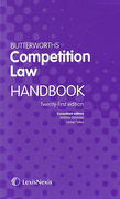 Cover of Butterworths Competition Law Handbook 2015