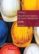 Cover of Tolley's Health and Safety at Work Handbook 2016