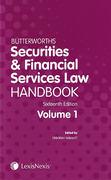Cover of Butterworths Securities and Financial Services Law Handbook 2015