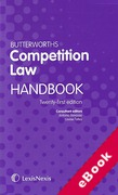 Cover of Butterworths Competition Law Handbook 2015 (eBook)