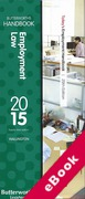 Cover of Two Volume Set: Butterworths Employment Law Handbook 2015 & Tolley's Employment Handbook 2015 (eBook)