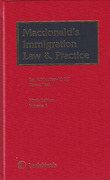 Cover of Macdonald's Immigration Law and Practice with 1st Supplements