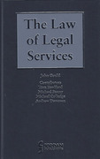 Cover of The Law of Legal Services