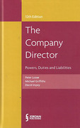 Cover of The Company Director: Powers, Duties and Liabilities