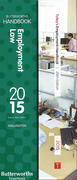 Cover of Two Volume Set: Butterworths Employment Law Handbook 2015 & Tolley's Employment Handbook 2015