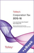 Cover of Tolley's Corporation Tax 2015-16 (Book & eBook Pack)
