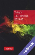 Cover of Tolley's Tax Planning 2015-16 (Book & eBook Pack)