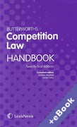 Cover of Butterworths Competition Law Handbook 2015 (Book & eBook Pack)