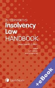 Cover of Butterworths Insolvency Law Handbook 2015 (Book & eBook Pack)