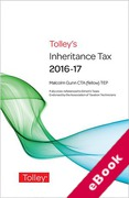 Cover of Tolley's Inheritance Tax 2016-17 (eBook)