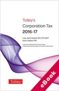 Cover of Tolley's Corporation Tax 2016-17 (eBook)
