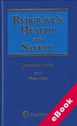 Cover of Redgrave's Health and Safety 2016 (eBook)