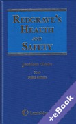 Cover of Redgrave's Health and Safety 2016 (Book & eBook Pack)