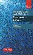 Cover of Whillans's Tax Tables 2016-17: Finance Act Edition