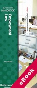 Cover of Two Volume Set: Butterworths Employment Law Handbook 2016 & Tolley's Employment Handbook 2016 (eBook)