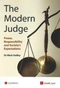 Cover of The Modern Judge: Power, Responsibility and Society's Expectations