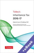 Cover of Tolley's Inheritance Tax 2016-17 (Book & eBook Pack)