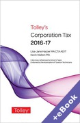 Cover of Tolley's Corporation Tax 2016-17 (Book & eBook Pack)