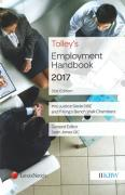Cover of Tolley's Employment Handbook 2017